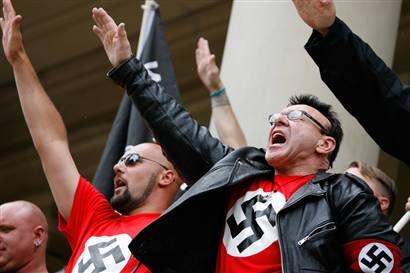 Lystring nynazister, eländiga hundspyor i människoskepnad!