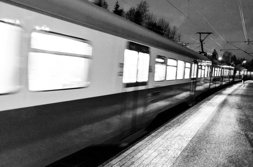 Jag har bott vid en järnväg i hela mitt liv♪♫♬